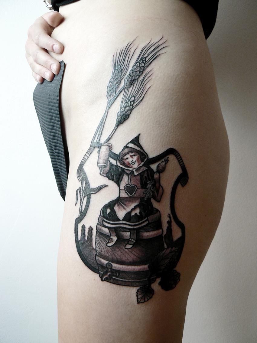 Tattoos von Moni Rumrich   Kleine Welt Tattoos München